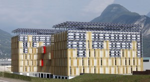 cristalera fotovoltaica