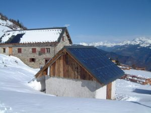 refugios de alta montaña