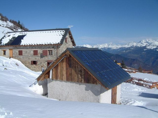 Solaire En Site Isol U00e9  Refuges D U0026 39 Exception En Montagne